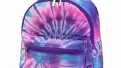 Spiral Tie Dye Puffer Mini Backpack