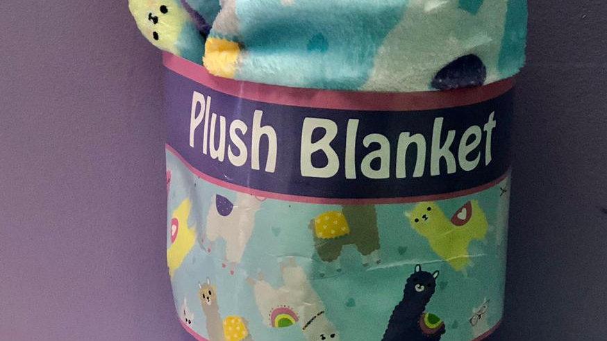 Iscream Llama Plush Blanket