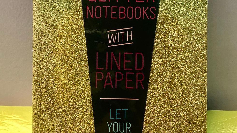 Glamtastic Notebooks -Gold & Bronz