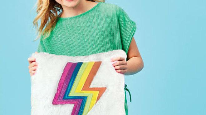 Lightning Bolt Pillow