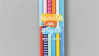 Write In Style Graphite Pencil -Dot & Dashes