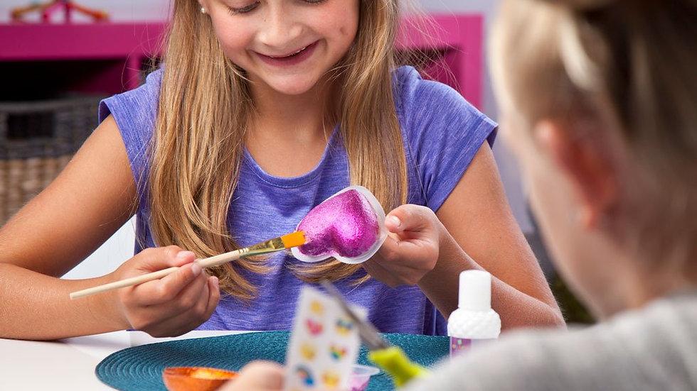 Craft-Tastic Make & Give Mini Heart Bowls
