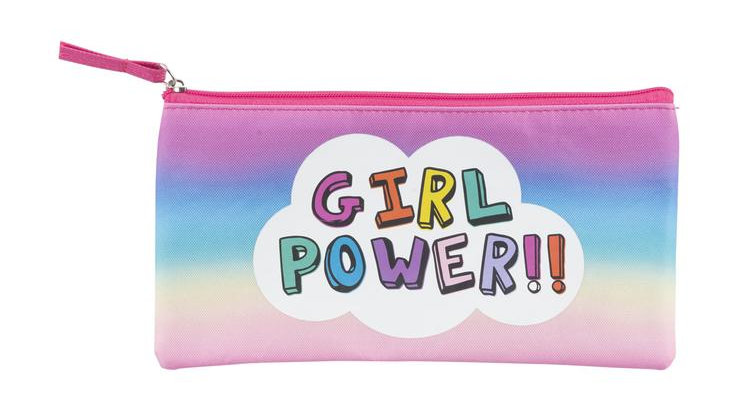 Girl Power Pencil/Cosmetic case