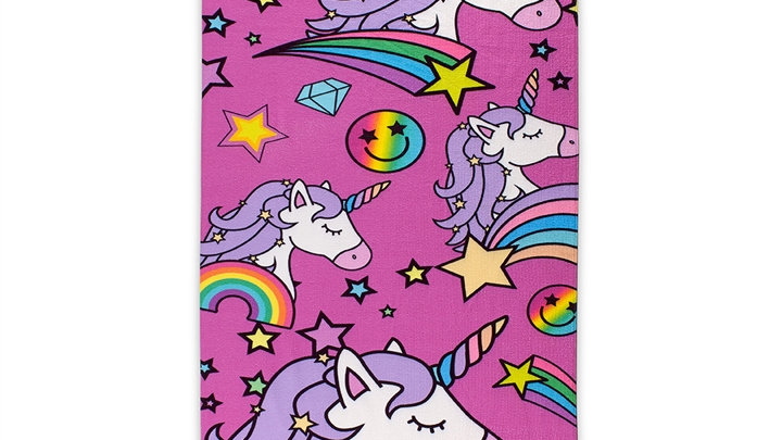 Unicorn Couture Beach Blanket