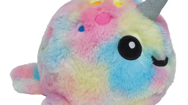 Tie Dye Narwhal Scented Furry Animal