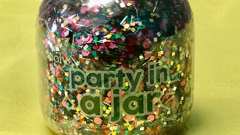 Pixie Paste Glitter Glue -Party In a Jar