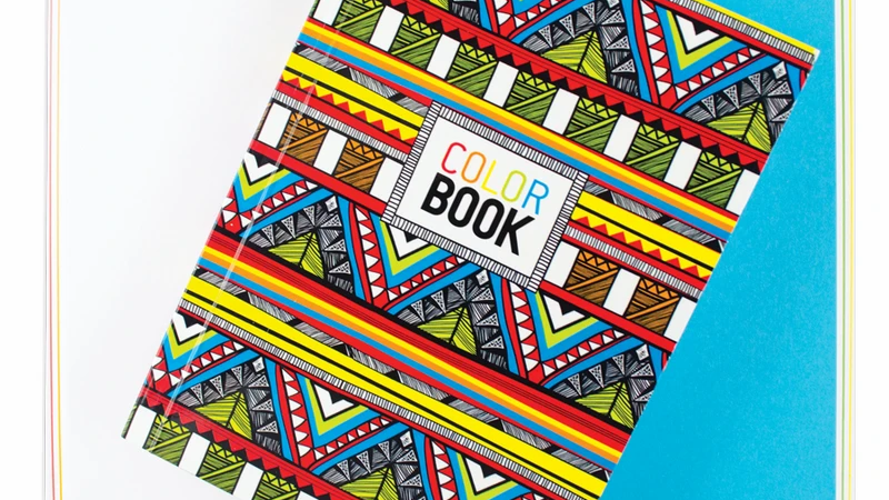 Make Notes : Colour Book Tribal
