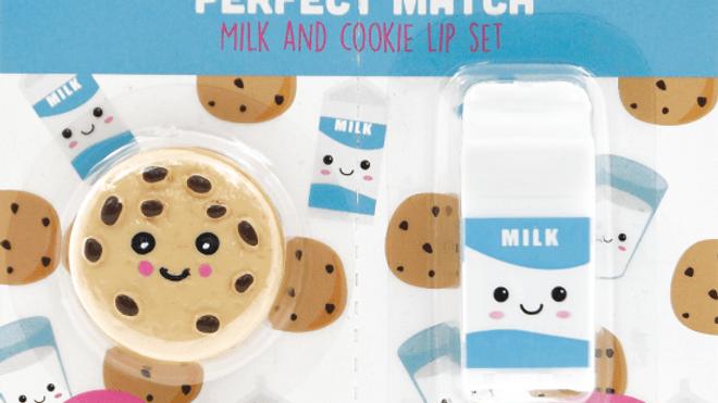 Cookies & milk lip set