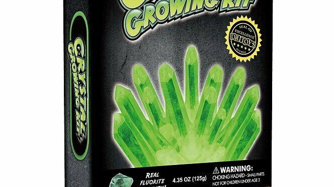 Dr Cool Glow In The Dark Crystal Growing Kit Green