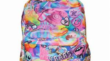 Psychedelic Collage Classic Backpack
