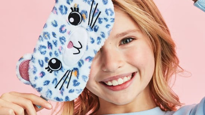 Pastel Leopard Eye Mask
