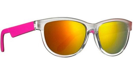 Neon Ice Electric Pink Sunglasses