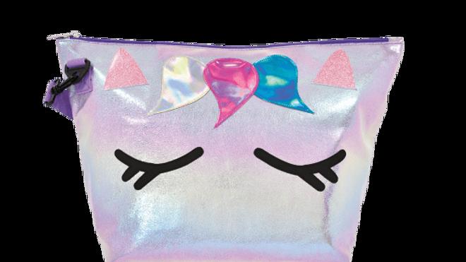 Unicorn Iridescent Overnight Bag
