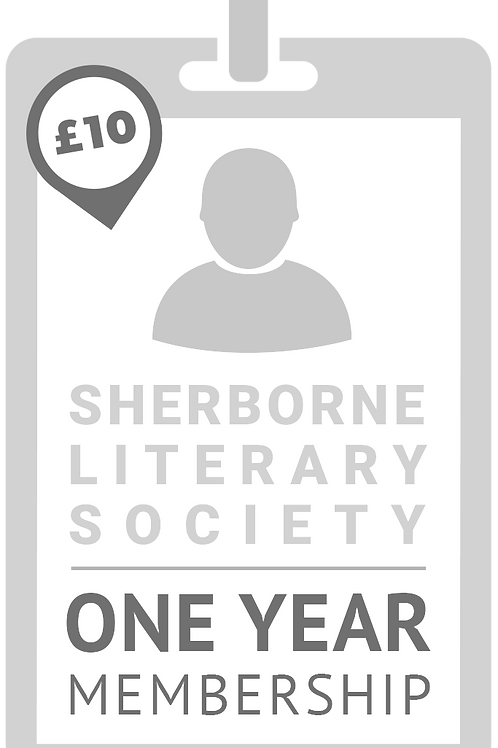 ONE YEAR ADULT Membership of Sherborne Literary Society