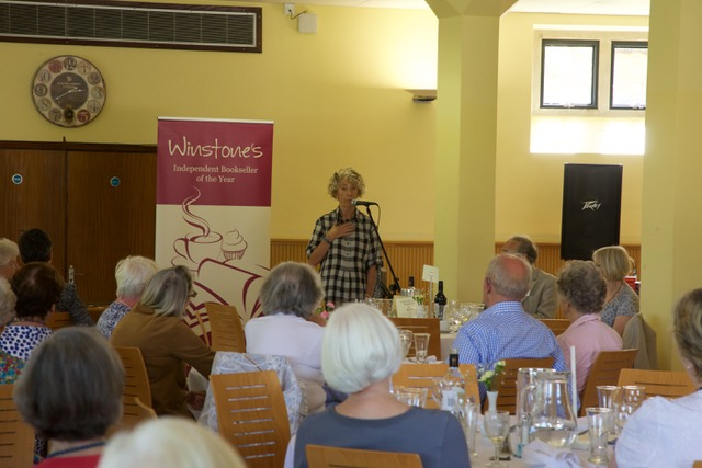 Literary Lunch with Rosie Thomas 1