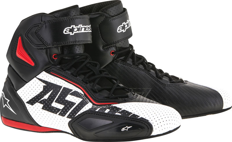Alpinestars Faster 2 Vented Shoes - Black/White/Red
