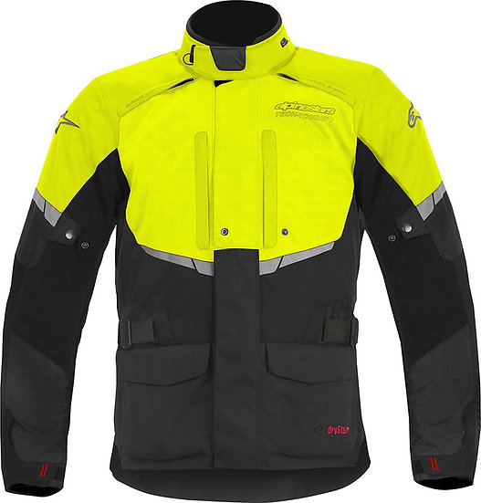 Alpinestars Andes Drystar Jacket - Black/Yellow Fluro