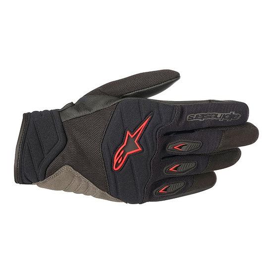 Alpinestars Shore Gloves - Black/Red