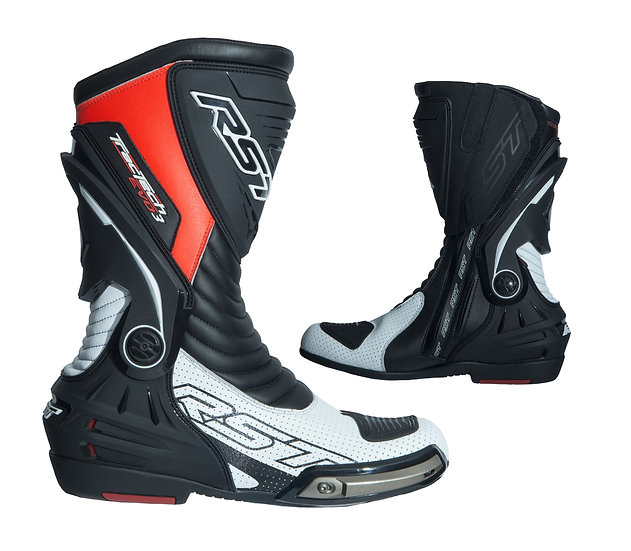RST Tractech Evo III Sport Boot - Black/White/Red