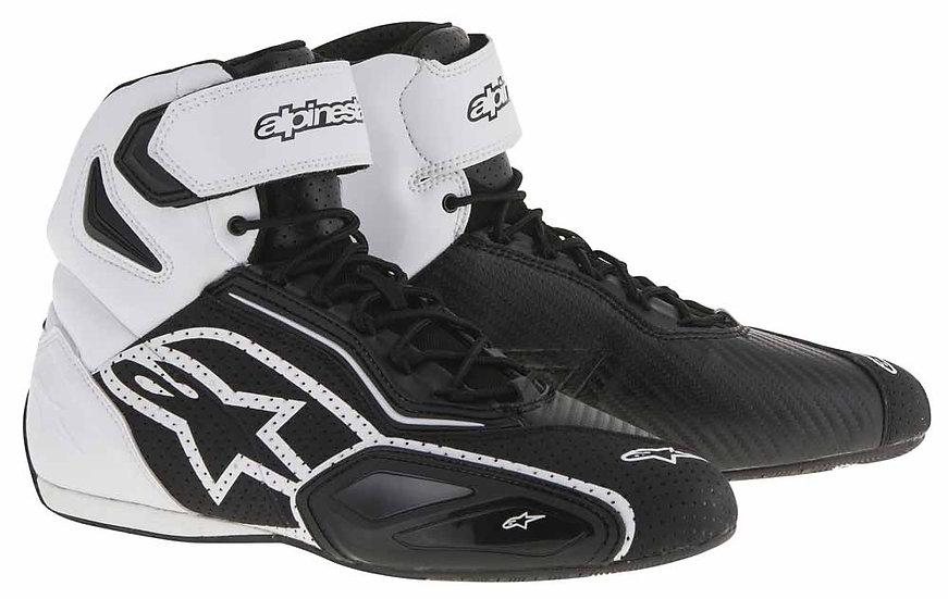 Alpinestars Faster 2 Vented Shoes - Black/White