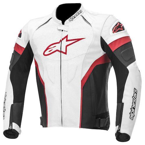 Alpinestars GP Plus R Leather Jacket - Black/White/Red