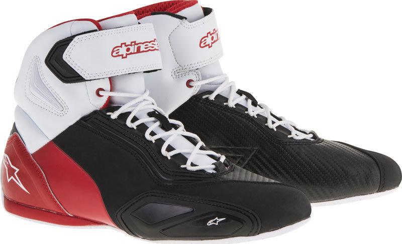 Alpinestars Faster 2 Shoes - Black/White/Red