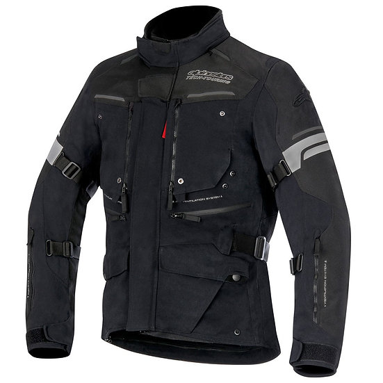 Alpinestars Valparaiso 2 Drystar Jacket - Black/Grey/Red