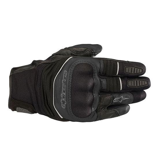 Alpinestars Crosser Air Touring Gloves - Black/Anthracite/Yellow Fluro