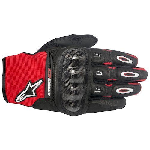 Alpinestars Megawatt Hard Knuckle Gloves - Black/White/Red