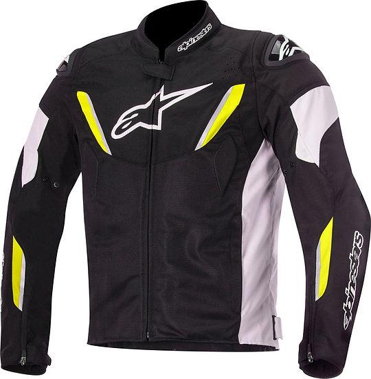 Alpinestars T-GP R Air 2 Jacket - Black/White/Yellow Fluro