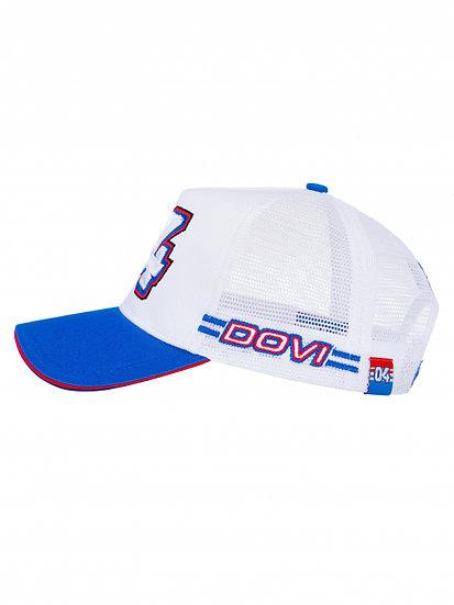 Cap Andrea Dovizioso - Trucker 04 BLUE