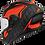 Thumbnail: Airoh Valor Helmet - Impact Orange Matt