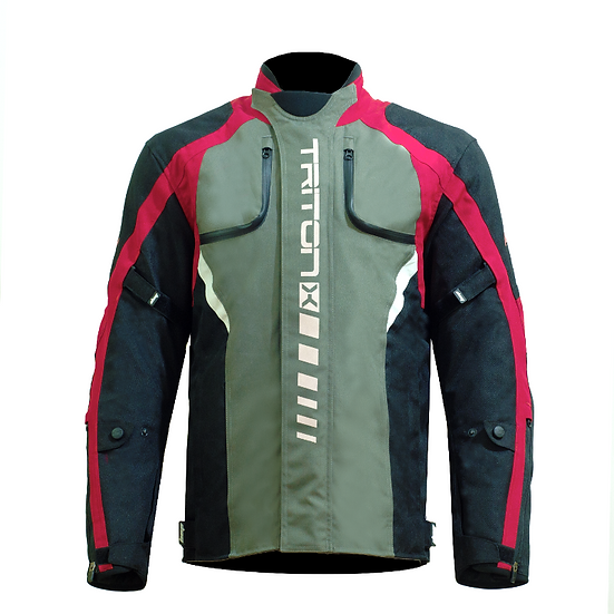 DSG Triton X Jacket - Black/Red