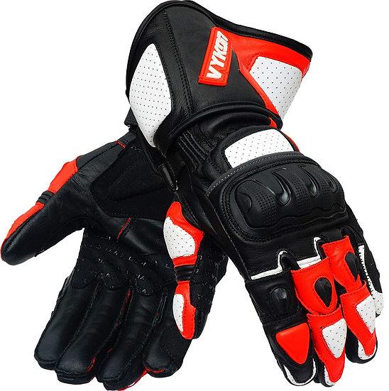 Vykon Radius Gloves, Riding Gloves, Full Leather Gloves
