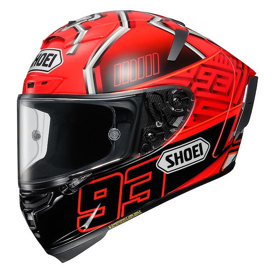 Shoei X14 Helmet - Marquez 4 Red