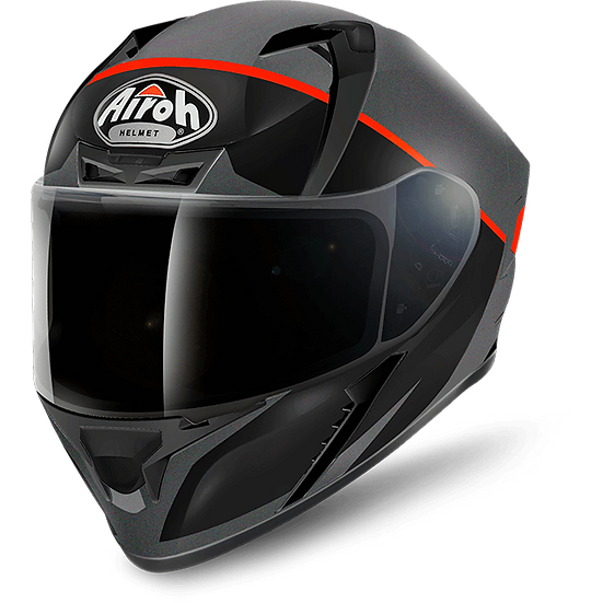 Airoh Valor Helmet - Eclipse Orange