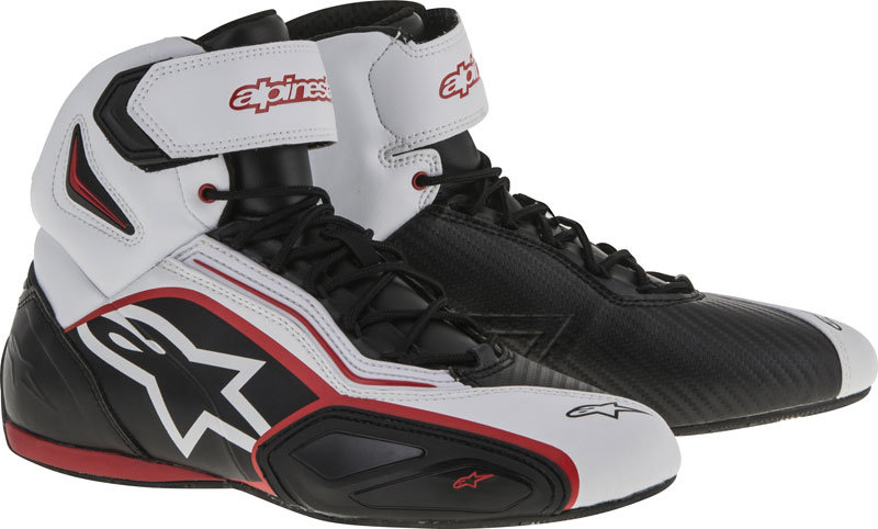 Alpinestars Faster 2 Shoes - Black/Red/White