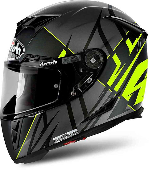 Airoh GP 500 Helmet - Sectors Ylw/Matt