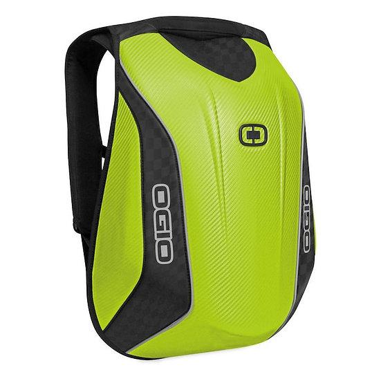 OGIO No Drag Mach 5 Motorcycle Backpack - Hi Viz Yellow