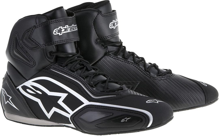 Alpinestars Faster 2 Shoes - Black/Silver
