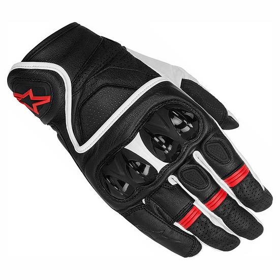 Alpinestars Celer Gloves - White/Black/Red