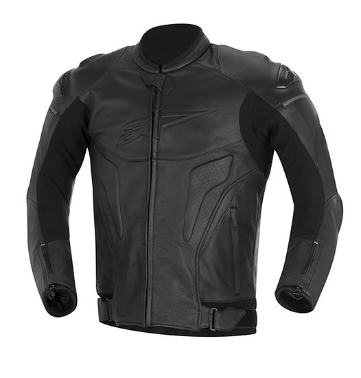 Alpinestars Phantom Leather Jacket - Blk/Blk