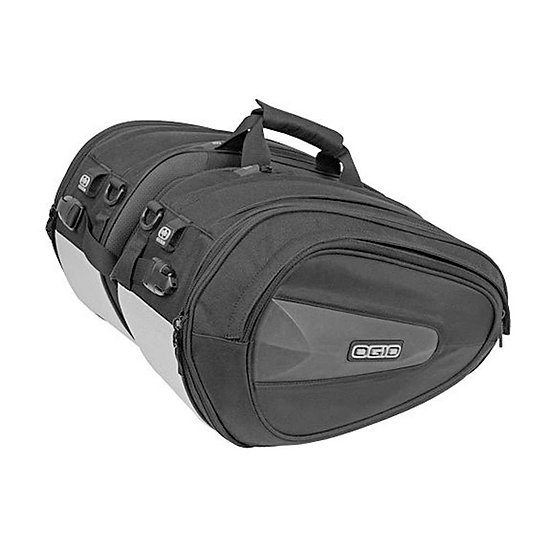 Ogio Stealth Saddle Bag, Motorcycle Saddle Bags,