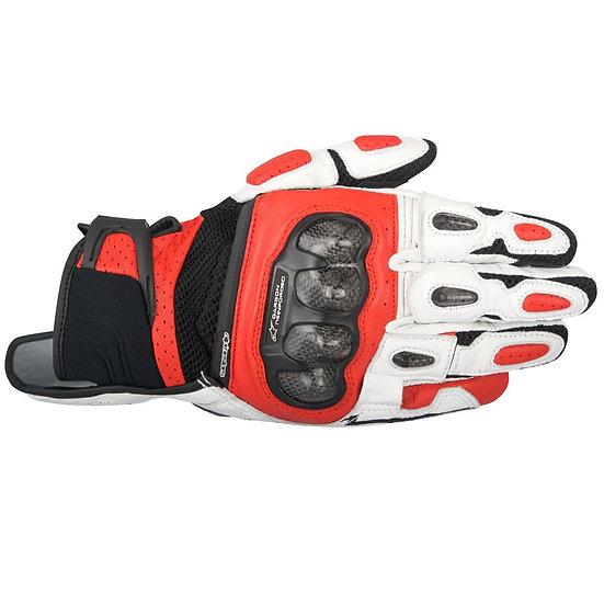 Alpinestars SP X Air Carbon Gloves - Black/White/Red