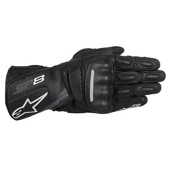 Alpinestars SP-8 V2 Leather Gloves - Black