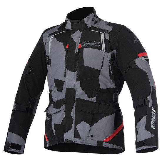 Alpinestars Andes V2 Drystar Jacket - Black Camo/Red