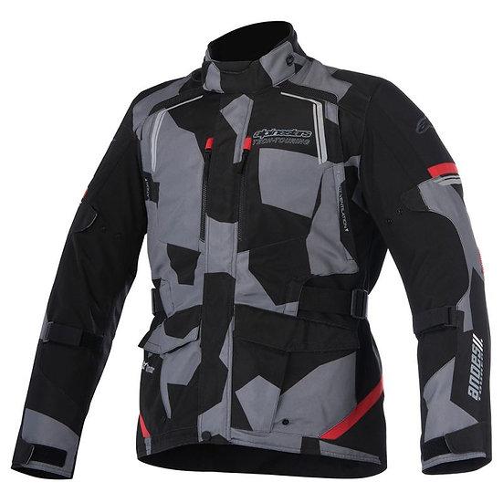 Alpinestars Andes V2 Drystar Jacket - Black Camo/Red