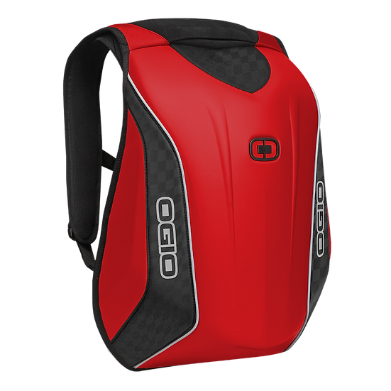 OGIO No Drag Mach 5 Motorcycle Backpack - Red