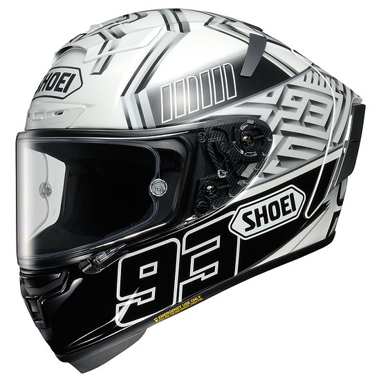 Shoei X14 Helmet - Marquez 4 White