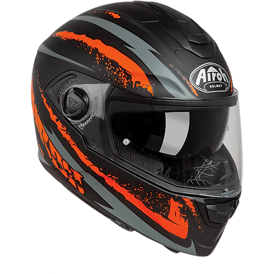 Airoh ST301 Logo Orange Matt